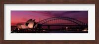 Australia, Sydney, sunset Fine Art Print