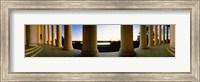 Jefferson Memorial Columns, Washington DC Fine Art Print