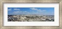 Ariel View Of The Western Wall, Jerusalem, Israel Fine Art Print