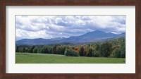 Clouds over a grassland, Mt Mansfield, Vermont, USA Fine Art Print