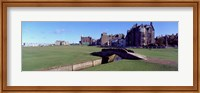 Footbridge in a golf course, The Royal and Ancient Golf Club of St Andrews, St. Andrews, Fife, Scotland Fine Art Print