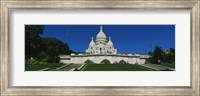 Facade of a basilica, Basilique Du Sacre Coeur, Paris, France Fine Art Print