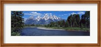 Snake River & Grand Teton WY USA Fine Art Print