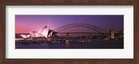 Opera House Harbour Bridge Sydney Australia Fine Art Print