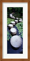 Shrine Garden, Kyoto, Japan Fine Art Print