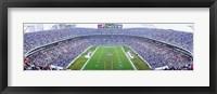 NFL Football, Ericsson Stadium, Charlotte, North Carolina, USA Fine Art Print