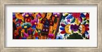 Close-Up Of Textiles, Guatemala Fine Art Print