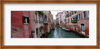 Buildings on both sides of a canal, Grand Canal, Venice, Italy Fine Art Print