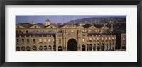 Facade of a train station, Zurich, Switzerland Fine Art Print