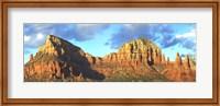 Chapel on rock formations, Chapel Of The Holy Cross, Sedona, Arizona, USA Fine Art Print