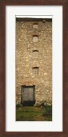 Door of a mill, Kells Priory, County Kilkenny, Republic Of Ireland Fine Art Print