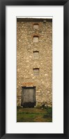Door of a mill, Kells Priory, County Kilkenny, Republic Of Ireland Fine Art Print