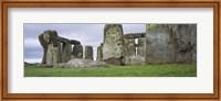 Rock formations of Stonehenge, Wiltshire, England Fine Art Print