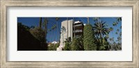 Trees in front of a hotel, Beverly Hills Hotel, Beverly Hills, Los Angeles County, California, USA Fine Art Print