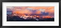 Purple Clouds Over Monte Fitz Roy, Argentina Fine Art Print