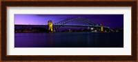 Australia, Sydney, Harbor Bridge Fine Art Print