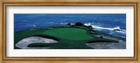 Pebble Beach Golf Course 8th Green Carmel CA Fine Art Print