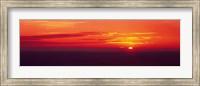 Sunrise Lake Michigan USA Fine Art Print