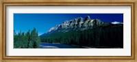 Castle Mountain, Banff National Park, Alberta, Canada Fine Art Print