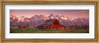 Barn Grand Teton National Park WY USA Fine Art Print