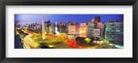 Plaza De La Republica, Buenos Aires, Argentina Fine Art Print