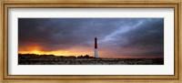 Sunset, Barnegat Lighthouse State Park, New Jersey, USA Fine Art Print