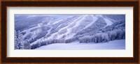 Mountains, Snow, Steamboat Springs, Colorado, USA Fine Art Print