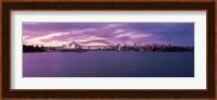 Sydney Opera House, Sydney Harbor Bridge, Sydney, Australia Fine Art Print