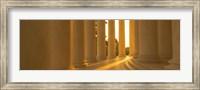 Sunlight on the Jefferson Memorial Fine Art Print