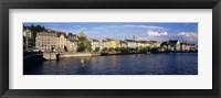 Switzerland, Zurich, Limmat River Fine Art Print