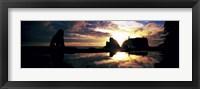 Sea Stacks Rialto Beach Olympic National Park WA USA Fine Art Print