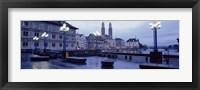 Evening, Zurich, Switzerland Fine Art Print
