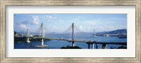 Ting Kaw & Tsing Ma Bridge Hong Kong China Fine Art Print