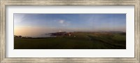 Golf course with a lighthouse in the background, Turnberry, South Ayrshire, Scotland Fine Art Print