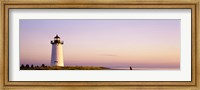 Edgartown Lighthouse, Marthas Vineyard, Massachusetts, USA Fine Art Print