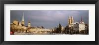 Winter, Zurich, Switzerland Fine Art Print