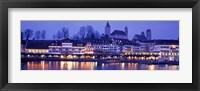 Evening, Lake Zurich, Rapperswil, Switzerland Fine Art Print