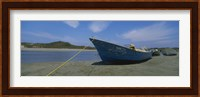 Fishing boats on the beach, Mexico Fine Art Print