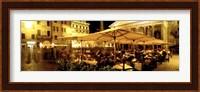 Cafe, Pantheon, Rome Italy Fine Art Print