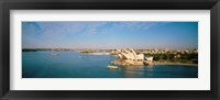 Aerial view of Sydney Opera House Fine Art Print