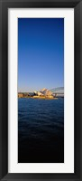 Buildings on the waterfront, Sydney Opera House, Sydney, New South Wales, Australia Fine Art Print