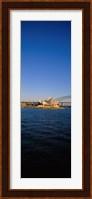 Buildings on the waterfront, Sydney Opera House, Sydney, New South Wales, Australia Fine Art Print