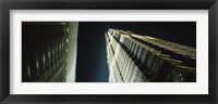 Low Angle View Of A Tower, Jin Mao Tower, Pudong, Shanghai, China Fine Art Print