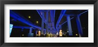 Low Angle View Of An Overpasses, Shanghai, China Fine Art Print