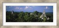 High Angle View Of An Old Temple, Tikal, Guatemala Fine Art Print