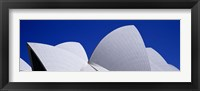High Section View Of An Opera House, Sydney Opera House, Sydney, New South Wales, Australia Fine Art Print