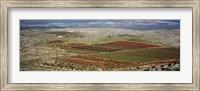 Panoramic view of a landscape, Aleppo, Syria Fine Art Print