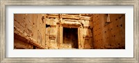 Interiors of Cella the hollies part of a temple, Palmyra, Syria Fine Art Print