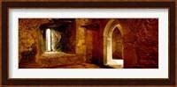 Interiors of a castle, Blarney Castle, Blarney, County Cork, Republic Of Ireland Fine Art Print