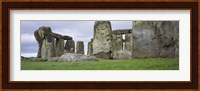 Rock formations of Stonehenge, Wiltshire, England Fine Art Print